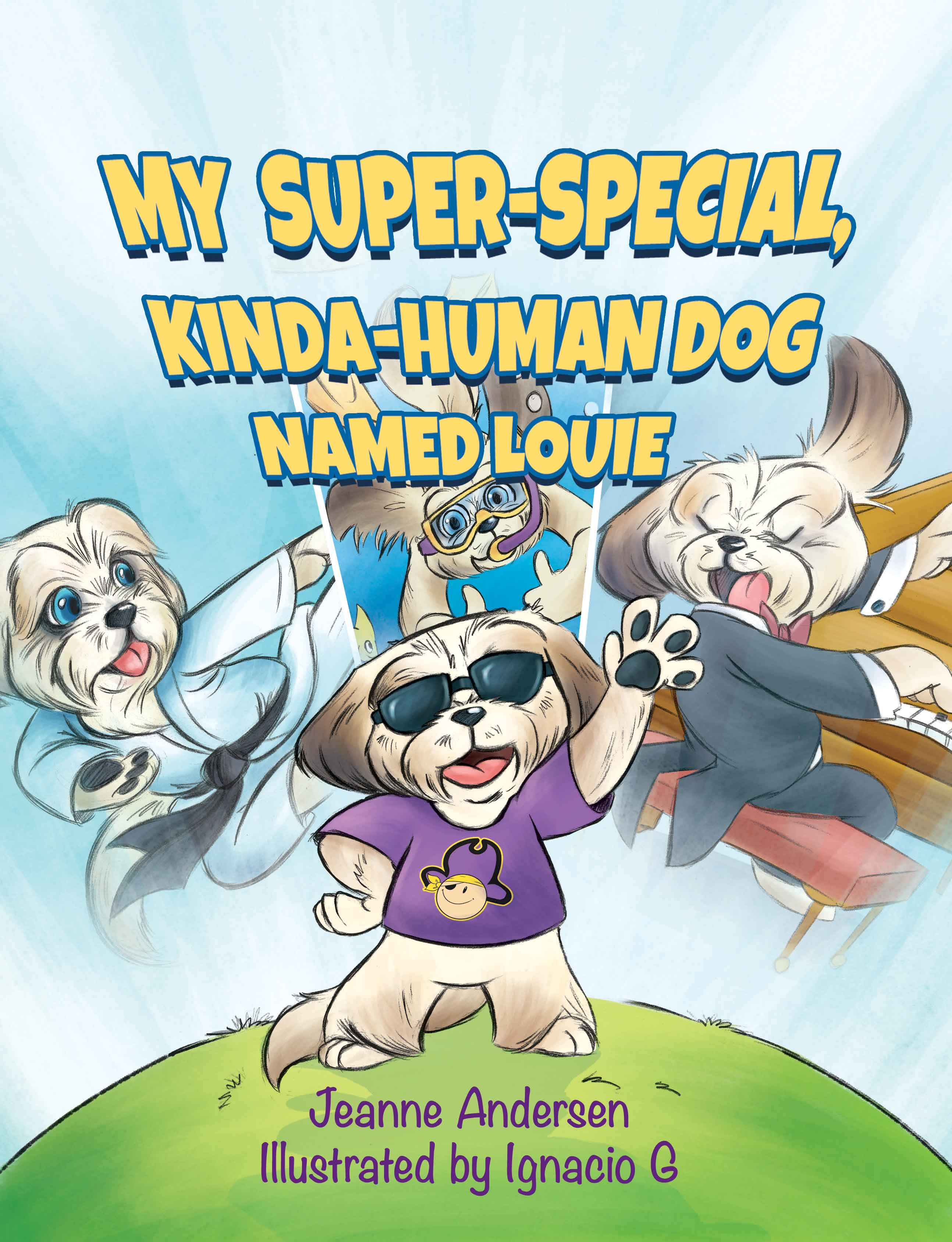 Louie Book Cover